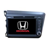 Central Multimídia Honda Civic 2014 Em Diante (cor Preto)