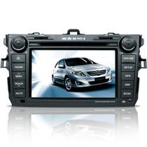 Central Multimidia Toyota Corolla Dvd Tv Gps E Câmera De Ré