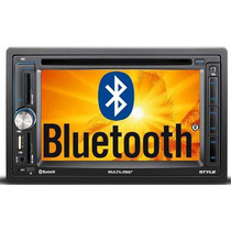 Central Multimidia 2 Din Multilaser Dvd Tv Gps Bluetooth Usb