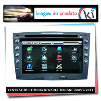 Central Multimidia Renault Megane 2005 A 2011
