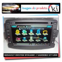 Central Multimidia Renault Duster Dynamic / Sandero Gt Line