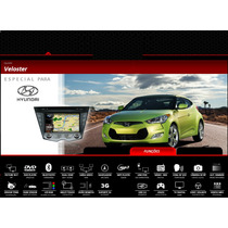 Central Multimidia Original Hyundai Veloster 2012 A 2016 3g