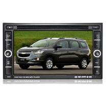 Central Multimídia Kit Dvd Chevrolet Spin Premium Completa