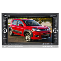 Central Multimídia Fiat Novo Uno Kit Dvd Premium Completa Gp