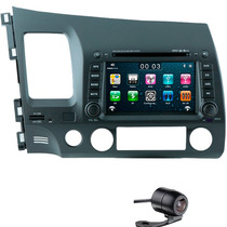 Central Multimídia Honda Civic Voolt Tv D. Dvd Gps Bluetooth