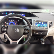 Kit Central Multimídia Honda New Civic 2012 A 2014 Dvd Tv