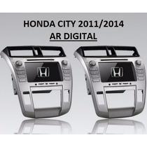 Central Multimidia Honda City Ar Digital Tv Gps Bluetooth
