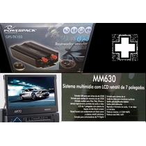 Rastreador + Som Automotivo Multimídia Tela 7 + Frete Free
