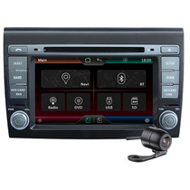 Central Multimídia Fiat Bravo- Dvd- Gps- Tv Dig- Bluetooth