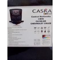 Central Kit Multimidia Cruze Com Camera De Ré