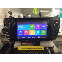 Central Multimidia M1 Motor One New Corolla 2015 Tv Dvd Gps