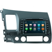 Central Multimidia Honda New Civic Tv Gps Espelhamento Vi300