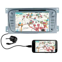 Central Multimidia Focus Tela De 7 Gps, Tv, Dvd, Bluetooth