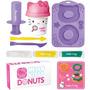 Hello Kytty Donuts Massinha Infantil Brinquedo Menina Sunny