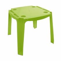 Mesa Infantil Escolar Mesinha Com 2 Cadeiras Verde
