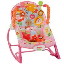 Cadeira Balanço Bebê Minha Infância Meninas Fisher-price