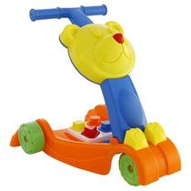 Andador Bebê Play Time Atividades Blocos De Montar Cotiplás