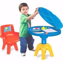 Mesa Com Cadeira Galinha Pintadinha Lider