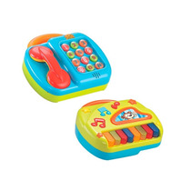 Telefone E Piano Com Músicas Divertidas 1389 - Bee Me Toys