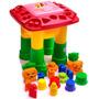 Mesa De Atividades Infantil Mk200 Vermelha Dismat