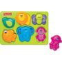 Encaixa Bichinho Zoo Animais Brinquedo Bebe Fisher Price