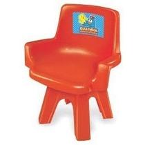 Cadeira Para Mesa Infantil Galinha Pintadinha Colorida