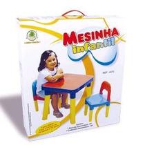 Mesinha Mesa Infantil Com Cadeira Monte Líbano - Oferta!