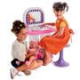 Salão De Beleza Infantil Com Banquinho 19 Pçs 9024 Bell Toy