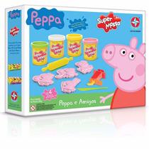 Super Massa De Modelar Peppa Pig E Amigos - Estrela