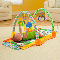 Tapete Atividade Ginásio Bichinhos 3 Em 1 Bebê Fisher Price