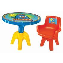 Mesa E Cadeira Infantil Galinha Pintadinha