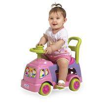 Andador Infantil 4 Em 1 Rosa - Magic Toys