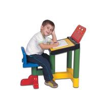Carteira Legal Mesa Infantil Com Cadeira 7600 Criança Escola