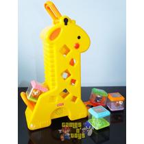 Girafa Fisher Price Pick A Blocks Brinquedo Blocos Mattel