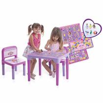 Mesa Com 2 Cadeiras Princesa Sofia Multibrink Original