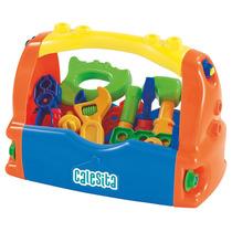 Brinquedo Caixa De Ferramentas Com Acessórios 455 - Calesita
