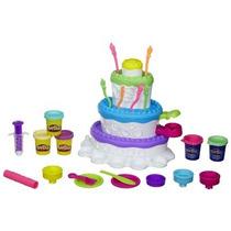 Brinquedo Conjunto Play-doh Fábrica De Bolos - Hasbro