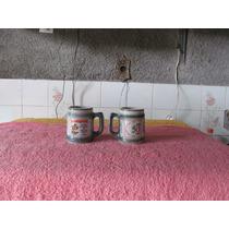 Porcelana De Monte Siao. Caneca De Caldos