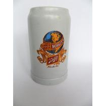Caneca Chopp Em Cerâmica Schlitz