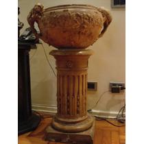Vaso Com Coluna Em Ceramica Do Liceu De Artes E Ofícios