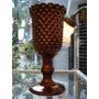 Taça/vaso Em Cerâmica Cobreada Anos 50 Manufatura Weiss