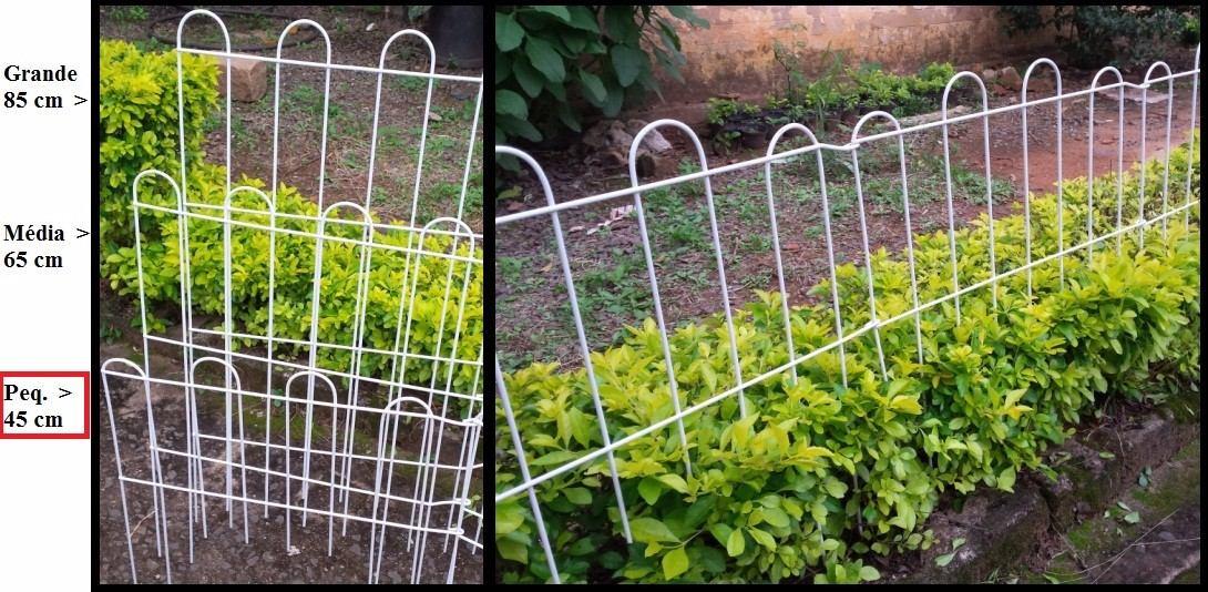 onde encontrar cerca para jardim:Cerca Para Jardim (grade De Protecao ) Pequena 45 Cm – R$ 28,00 no