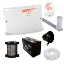 Kit Cerca Elétrica Com 40 Hastes E Controle Remoto Gcp.