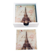 Conjunto Porta-copos Monumentos Paris