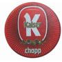 Breweriana - Bolacha De Chopp Kaiser - Frente E Verso Iguais