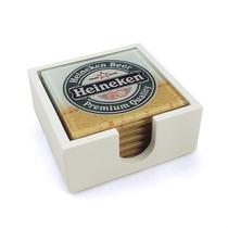 Conjunto Porta-copos Heineken Chopp