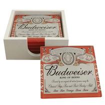 Conjunto Porta-copos Budweiser