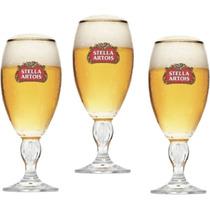 Jogo Com 3 Taças Stella Artois