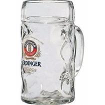 Caneca Alemã Erdinger 1 Litro Cerveja Choop - Pronta Entrega