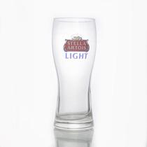 Raro Copo Vintage Vidro Cerveja Stella Artois Light 0,33cl